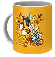 Кружка GeekLand Cuphead ЧашкоголовыйMugman and Honeybottoms CH 02.03