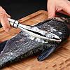 Рыбочистка скребок чистка рыбы нержавейка