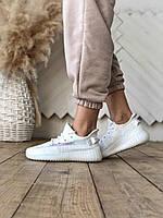 Женские кроссовки Adidas Yeezy Boost 350 v2 Ice Cream White/ Адидас Изи Буст 350 в2 Мороженое Белый