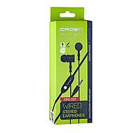 Наушники с микрофоном Crown CME-202 Black