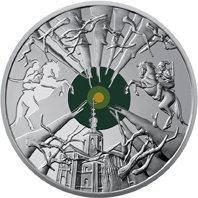 Монета Украины 5 грн 2019 г. Холодный Яр, фото 1