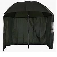 Зонт для рыбака 2окна ПВХ d2.2м SF23774
