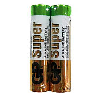 Батарейка GP SUPER ALKALINE 24A-S2 лужна LR03, AAA