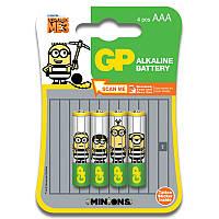 Батарейка GP ULTRA ALKALINE, 24AU-U4 лужна LR03, AAA