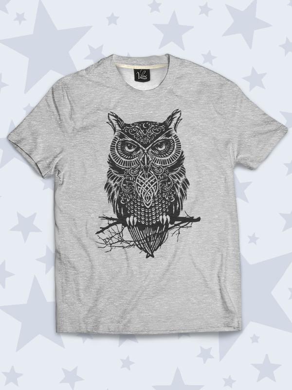 Детская футболка Ночная птица Сова
