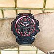 Мужские наручные часы черные в стиле Casio G-Shock с датой. Годинник чоловічий, фото 4