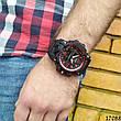 Мужские наручные часы черные в стиле Casio G-Shock с датой. Годинник чоловічий, фото 5
