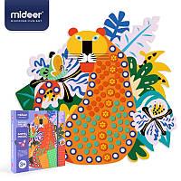 Стикеровая мозаика аппликации Mideer животные