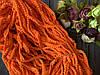 Тасьма з міні помпончиками 100 ярд, яскраво-помаранчевого кольору оптом