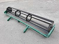 Каток, барабан, грудобой 140 см для культиватора, плуга, почвофрезы, мотоблока, мототрактора. C креплением