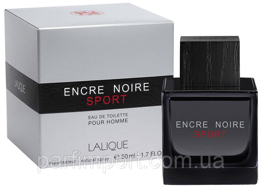 Lalique Encre Noir Sport Homme  EDT 50 ml  (оригинал подлинник  )