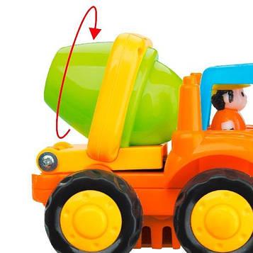 Іграшка Hola Toys Строймашинка 6 шт. (326CD) (SV)