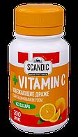 Освежающие драже Energon SCANDIC без сахара со вкусом Апельсина с витамином С  (52 грамма)