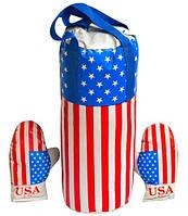 Детский набор для бокса USA большой
