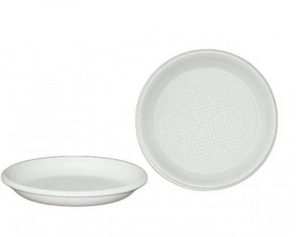 Одноразовая тарелка 205мм