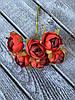 Штучні квіти ранункулюса, діаметр 2 см, 60 шт в уп., кремового кольору