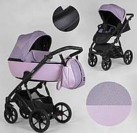 Детская коляска 2 в 1 Expander DEXO D-21044 цвет Pink,водоотталкивающая ткань и эко-кожа