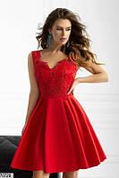 Вечернее платье мини выпускное нежное 42 44 46