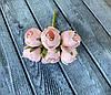 Искусственные цветы ранункулюса, диаметр 3 см, 60 шт в уп., кремового цвета