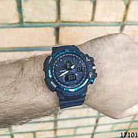 Мужские наручные часы черные в стиле Casio G-Shock с датой. Годинник чоловічий
