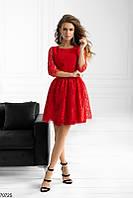 Вечернее платье мини выпускное нежное  ажурное 42 44 46
