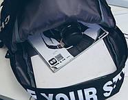 Рюкзак міський жіночий чоловічий унісекс, фото 3
