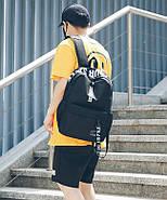 Рюкзак міський жіночий чоловічий унісекс, фото 2