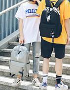 Рюкзак міський жіночий чоловічий унісекс, фото 4