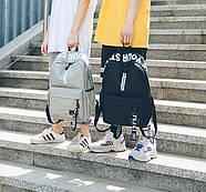 Городской рюкзак женский мужской унисекс, фото 5