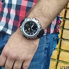 Мужские наручные часы серебристые в стиле Casio G-Shock с датой. Годинник чоловічий, фото 3
