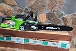 Аккумуляторная цепная пила GreenWorks GD40CS40 G-MAX 40V  DigiPro (20312) без АКБ и ЗУ, фото 4