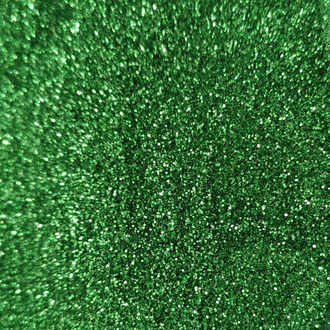 Блестки, глиттер сухой Зеленый