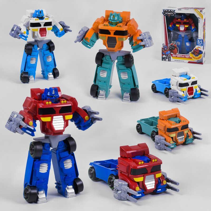Трансформер L 015-65 / 66/67 (12) 3 кольори, в коробці