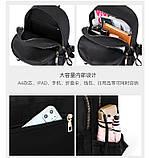 Рюкзак девушка Нейлоновая ткань сделанный в Китай спортивный городской стильный только опт, фото 6