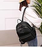 Рюкзак девушка Нейлоновая ткань сделанный в Китай спортивный городской стильный только опт, фото 4