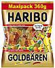 """Haribo 360 г. жевательный мармелад с соком """"Золотые Мишки"""" Германия."""