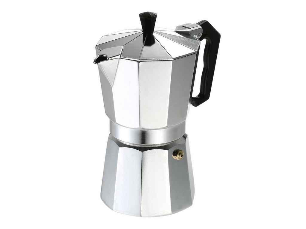 """Гейзерная кофеварка """"А-ПЛЮС"""" (9 порций) 2083 алюминиевая"""