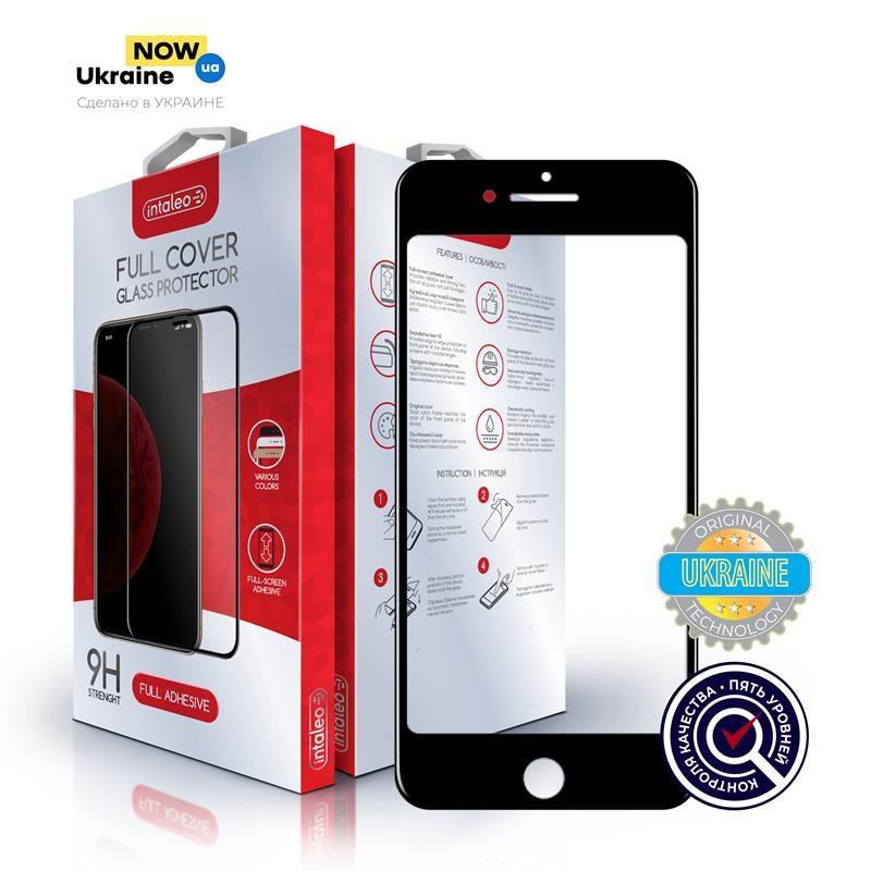 Защитное стекло Intaleo для Samsung Galaxy A10 SM-A105 Full Glue Black (1283126490996)