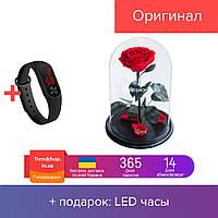 Роза в колбе Trend-mix A78 с LED большая Красная tdx0001030, КОД: 1626647