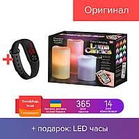Ночник 3 свечи Luma Candles Color Changing!