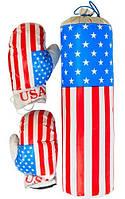 Детский набор для бокса USA средний