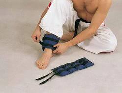 Универсальные утяжелители для рук и для ног 2шт=2кг (каждій по 1кг) Спорт инвентарь Спортивные утя, фото 2