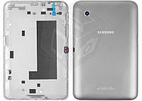 Задняя крышка для Samsung Galaxy Tab 2 P3110 (Wi-Fi), серый, оригинал