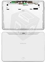 Задняя крышка для Samsung Galaxy Tab P7510 (Wi-Fi), белый, оригинал