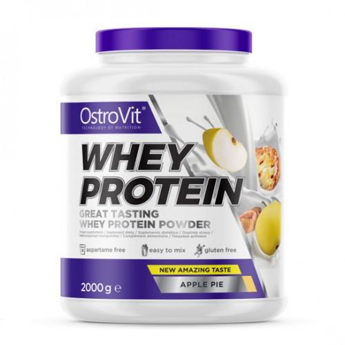Протеин OstroVit Whey Protein, 2 кг Яблочный пирог