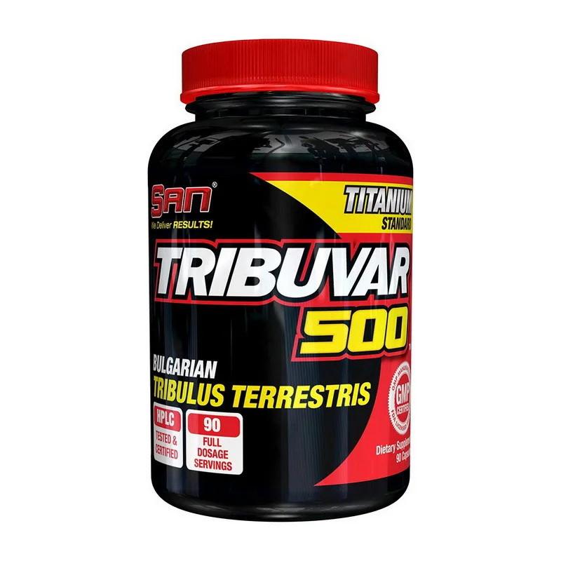 Стимулятор тестостерона SAN Tribuvar 500, 90 таблеток