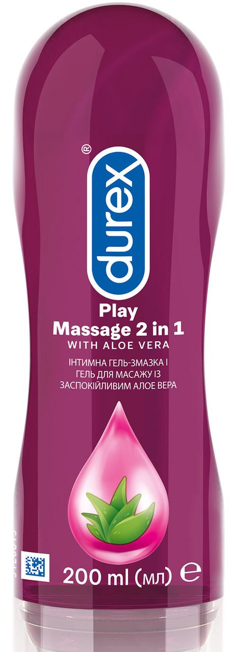 Гель-смазка Durex Play Massage 2в1 Aloe Vera 200 мл