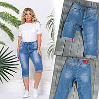 8393-01 Vanver шорты джинсовые женские батальные стрейчевые (38,40,42, 3 ед.)