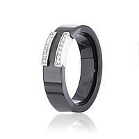 Серебряное кольцо керамическое К2ФК/1012 - 19