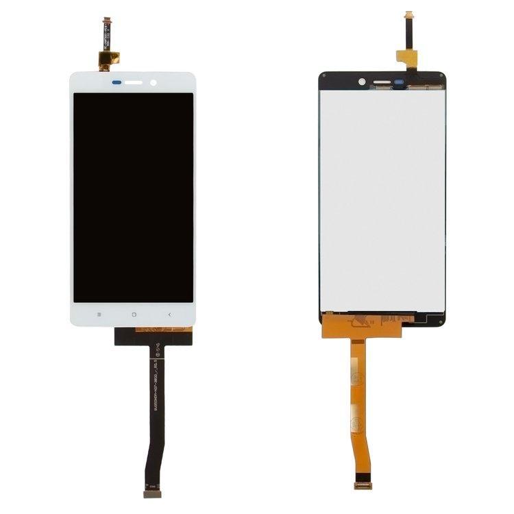 Дисплей (LCD) Xiaomi Redmi 3 | Redmi 3S | Redmi 3S Prime | Redmi 3X с тачскрином, белый